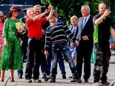 Marieke krijgt in Deventer plots koning en koningin over de vloer: 'Ik had m'n huis niet eens opgeruimd'
