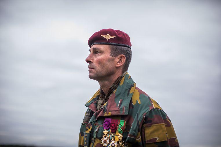 Kolonel Tom Bilo, commandant van het Special Operations Regiment  Beeld Bas Bogaerts