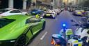 Een deel van de supersportwagens.