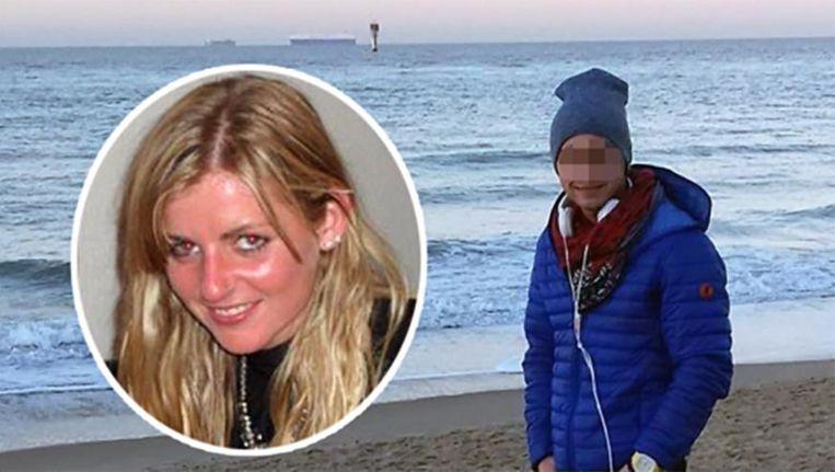 Slachtoffer Sofie Muylle en beschuldigde Alexandru Caliniuc. Beeld rv