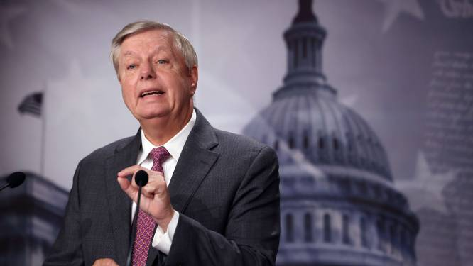 Republikeinse senator Lindsey Graham test positief na vaccinatie