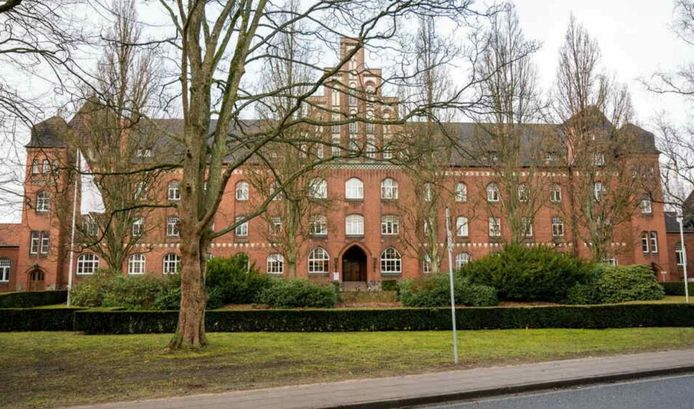 De psychiatrische kliniek Lüneburg.