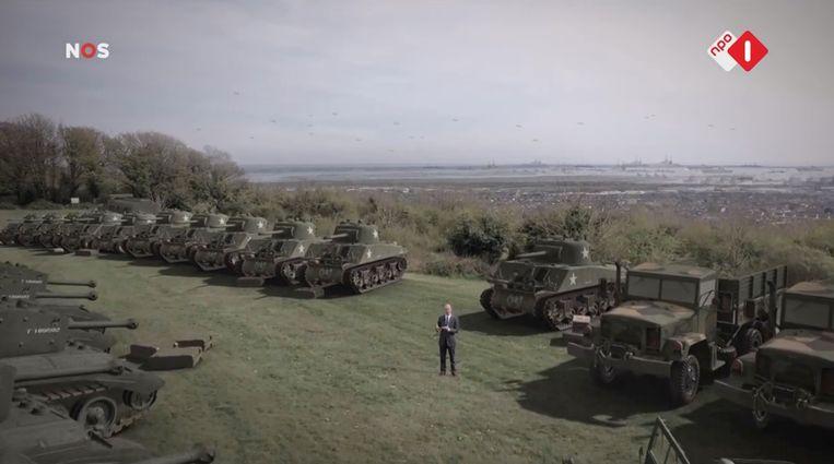 Bevrijdingsjournaal juni 1944, NPO 1. Beeld