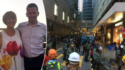 """Vlaming in Hongkong getuigt over nieuwe protesten: """"Geen idee hoe we zaterdag op luchthaven gaan raken"""""""