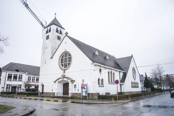 Gent, kerk Malem