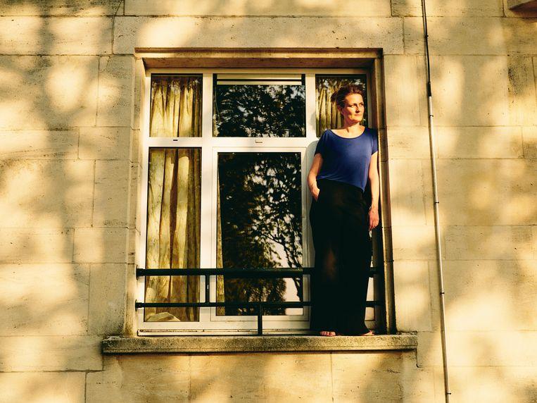Ruth Joos: ''Ik vind 'bijna' prachtig. In de buurt van perfectie komen, is al mooi.' Beeld Charlie de Keersmaecker