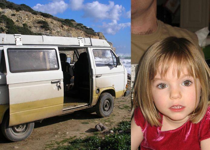 """Le suspect aurait vécu dans ce van """"pendant des jours, voire des semaines"""" et l'a peut-être utilisé le 3 mai 2007, jour de la disparition de Madeleine McCann."""