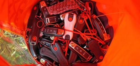 Op deze bizarre plek liggen 1500 gestolen contactsleutels van Volkswagens