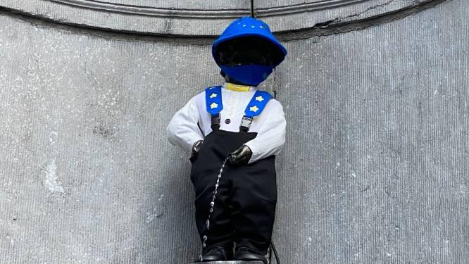 Manneken Pis krijgt 'Europees' tenuetje
