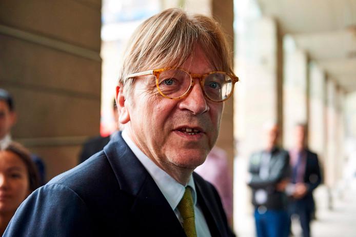 De Belgische Europarlementariër Guy Verhofstadt verdient jaarlijks tussen 920.000 en 1,4 miljoen euro aan nevenfuncties.