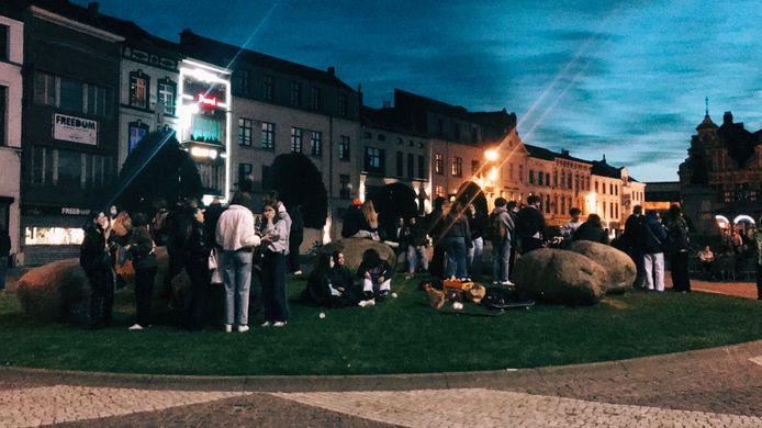 Het einde van T-day in Aalst.