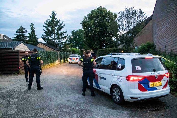 Agenten zijn op zoek in Doesburg.