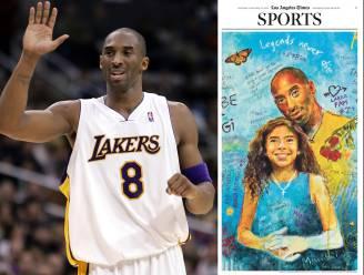 """Een jaar na zijn dood leeft NBA-legende Kobe Bryant voort: """"Hij was als een kleine broer"""""""