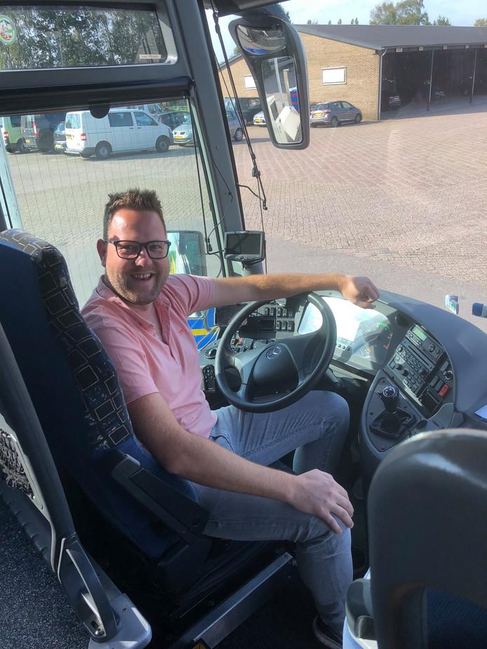 Archieffoto van Erik de Roo, de directeur van Gebo Tours.