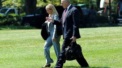 Trump duidt nieuwe minister van Binnenlandse Veiligheid aan