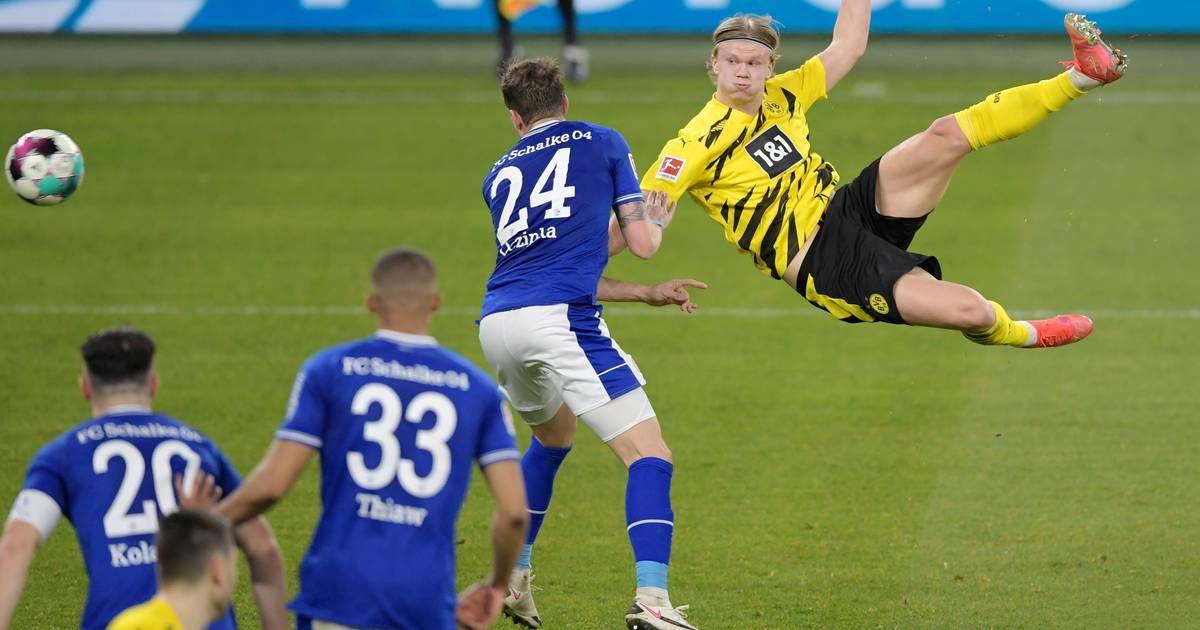 La reprise zlatanesque de Haaland, le carton de Dortmund - 7sur7
