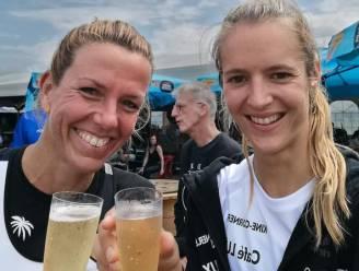 """Kim Lieckens en Isabel Van Den Broeck eindigen op vijfde plaats tijdens BK in Haacht: """"We zijn super tevreden van ons niveau"""""""