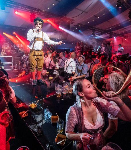 Oss 'niet te houden' tijdens Duits feestje; Oktoberfest  is een blijvertje