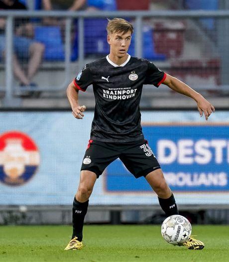 Dennis Vos zag zijn makker ineenkrimpen van de pijn en viel bij Jong PSV voor hem in: 'Hopelijk komt het goed met Mees'