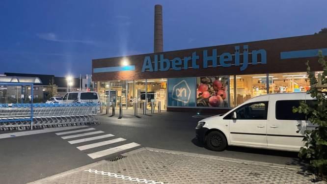 Gewapende overval op Albert Heijn: dader spoorloos, politie vraagt omwonenden binnen te blijven