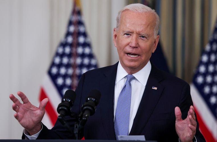 President Joe Biden. Beeld Reuters