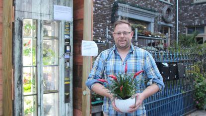 Nog eentje er bij: nu ook bloemenautomaat om je vrouw of lief op elk uur van de dag te verrassen