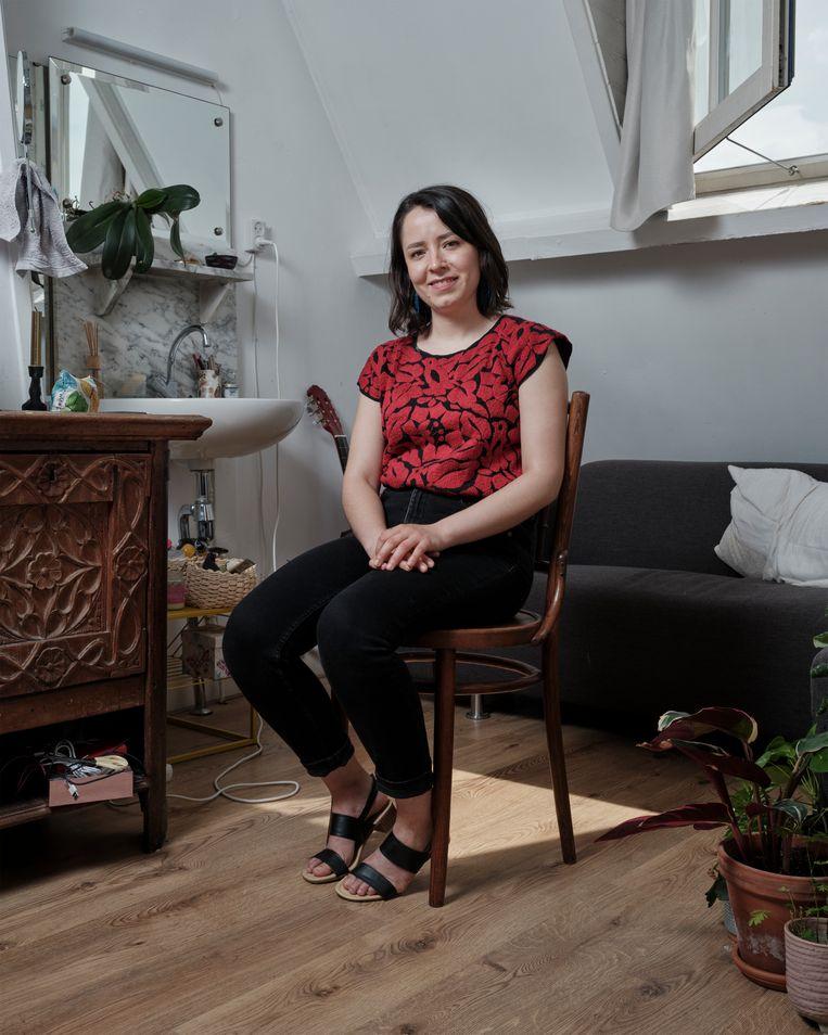 Ana Chávez: 'Zij denken dat we regels hebben, maar ik merk er niets van.' Beeld Erik Smits