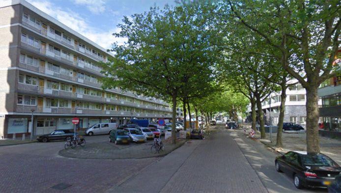 De Rijswijkstraat in Amsterdam-Slotervaart.
