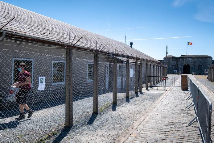 Het Fort van Breendonk in Willebroek