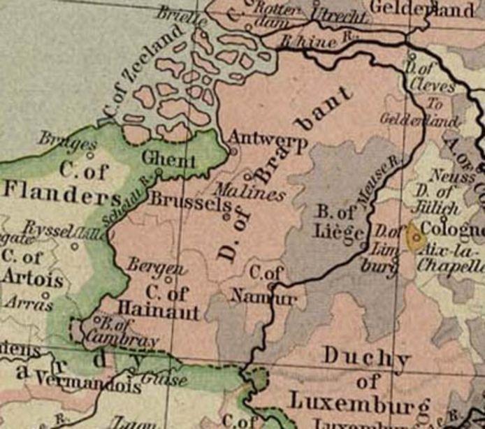 Hertogdom Brabant.