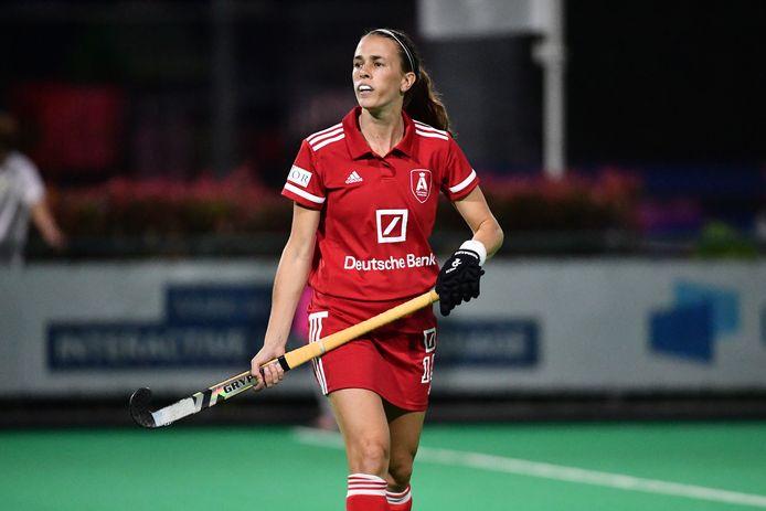 De Argentijnse topper Carla Rebecchi zorgde voor het enige doelpunt in de wedstrijd Victory-Antwerp.