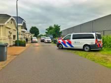 Inval politie op woonwagenkamp Waalre