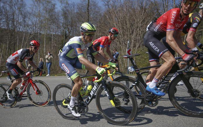 Quinten Hermans staat in de Giro aan de start van zijn eerste grote ronde.