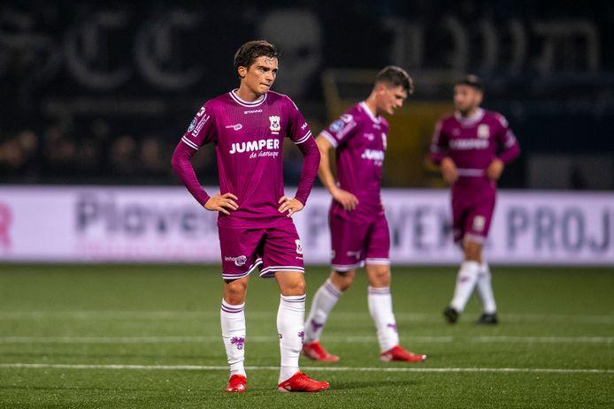 GA Eagles-speler Inigo Cordoba is teleurgesteld na zijn debuut.