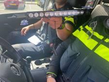 Politie neemt illegaal politiezwaailicht in beslag in Nijmegen