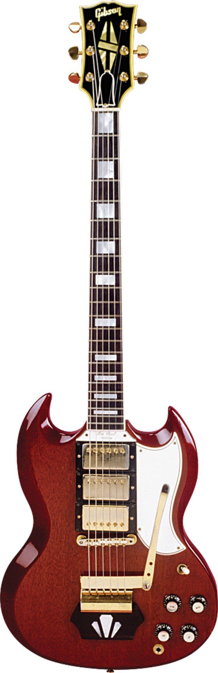 Gibson '62 Les Paul Beeld rv