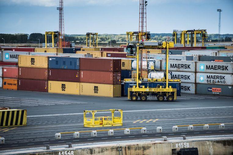Archiefbeeld haven Antwerpen.