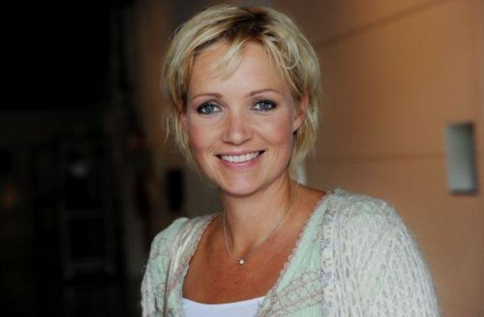 Yvon Jaspers, presentatrice van Boer zoekt vrouw. ANP