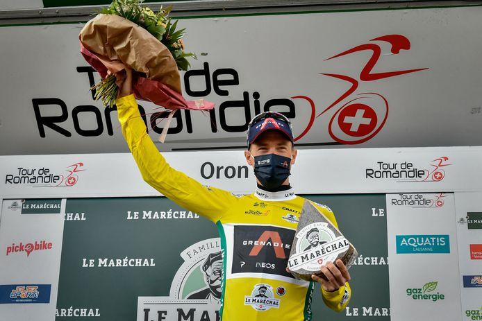 Rohan Dennis tijdens de afgelopen Ronde van Romandië