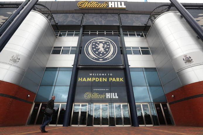 Hampden Park in Glasgow.