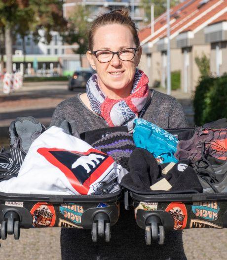 Rian Basting loopt werelds koudste marathon op Groenland: 'Genieten is het belangrijkste'
