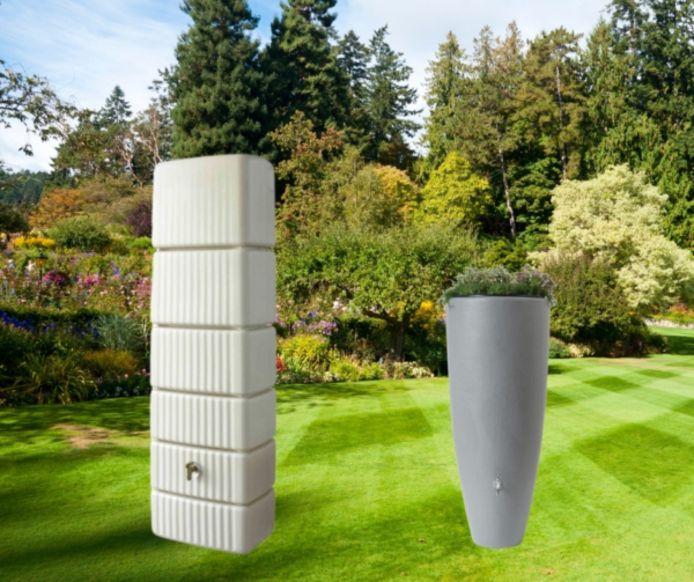 Deelnemers aan de samenaankoop voor regenwatertonnen door Stad Mechelen, Klimaan vzw en intercommunale IGEMO kunnen kiezen uit twee verschillende types.