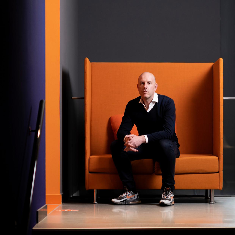 Gijs de Jong, toernooidirecteur voor EURO2020 in Nederland.