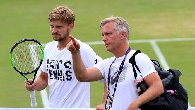 """Coach Johansson stoomt pupil Goffin klaar voor fysieke strijd: """"Ze gaan elkaar afmaken"""""""