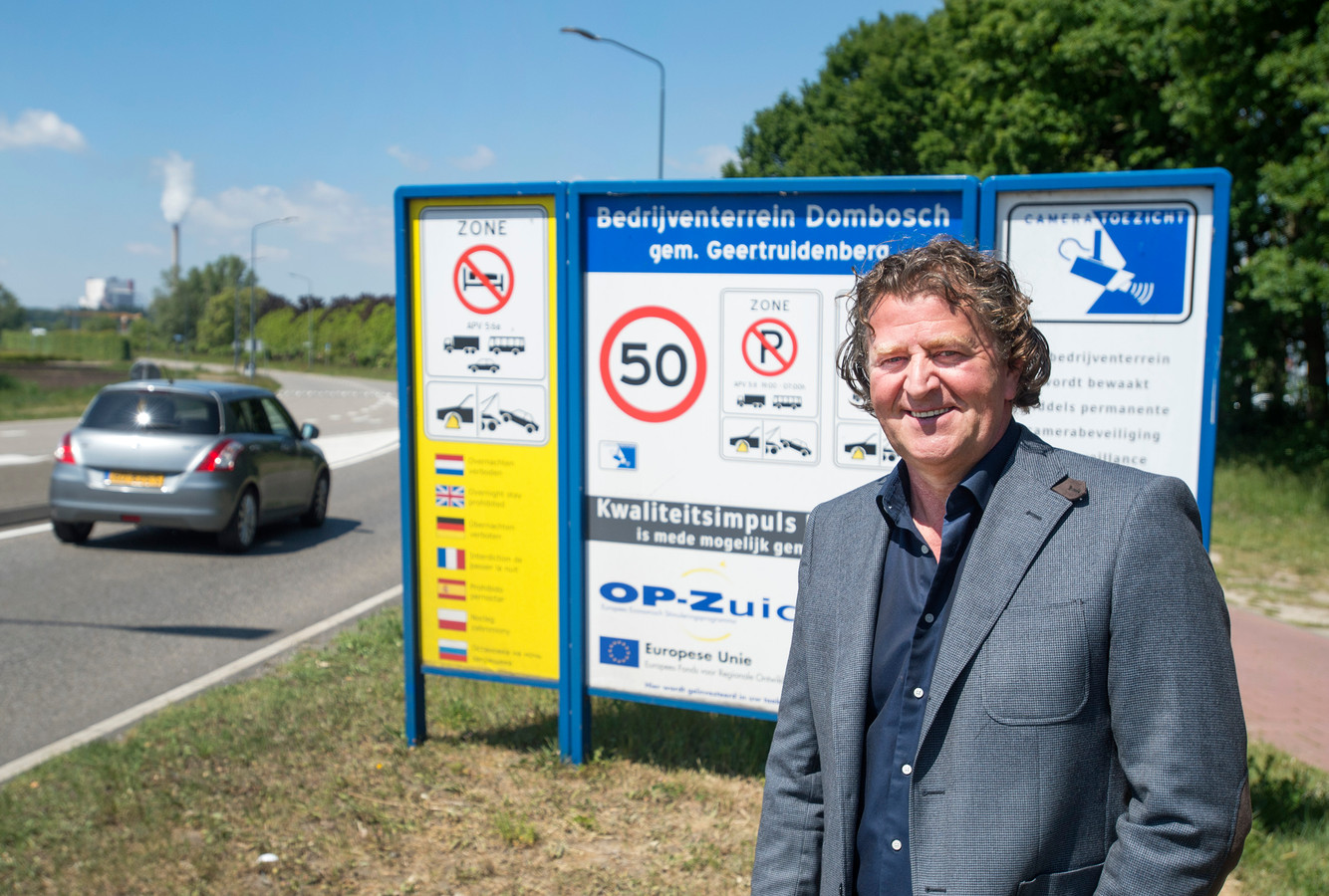 Louis de wit vertrekt als voorzitter van ondernemersvereniging VOG, waarvan industrieterrein Dombosch een belangrijke pijler is