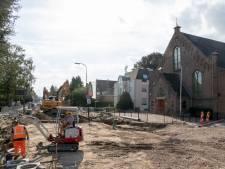 Grote scheuren in Brugkerk na werkzaamheden aan straat