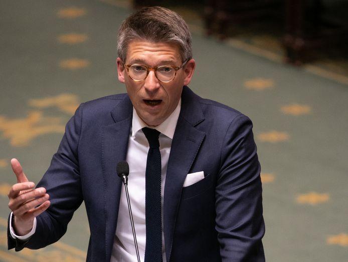 Le ministre de l'Emploi Pierre-Yves Dermagne (PS).