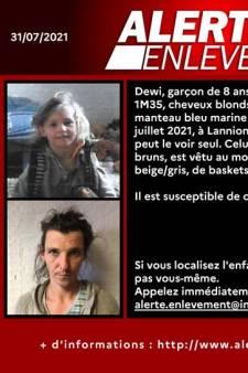 L'enfant de 8 ans enlevé par son père en France a été retrouvé