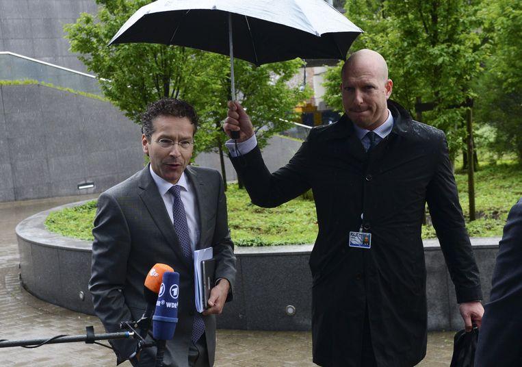 Eurogroepvoorzitter Jeroen Dijsselbloem. Beeld AFP