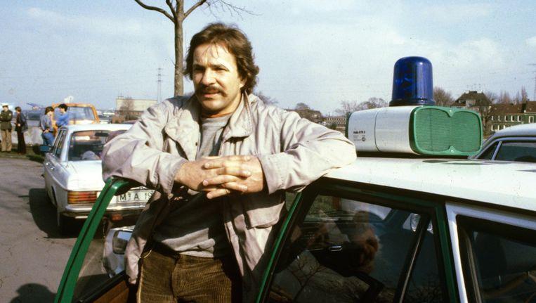 Götz George als commissaris Horst Schimanski in de krimiserie Tatort. Beeld epa
